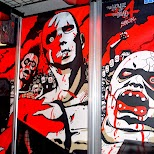 The house of the dead 4 SPECIAL EDITION in Odaiba, Tokyo, Japan