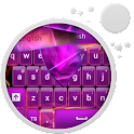 GO Keyboard Glow Purple icon