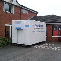 Freezer Trailer on Hire for BUPA