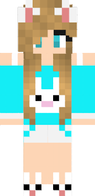 скин кролика в майнкрафт #8