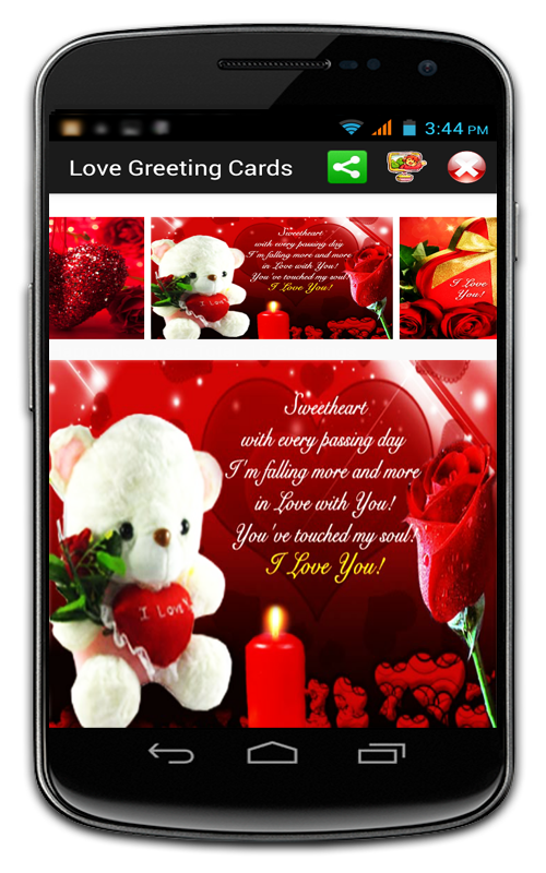 Love Greeting Cards Android Apps on Google Play – Flash Birthday Cards