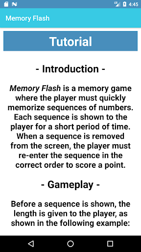 Memory Flash - Fast Paced Number Memory Game 1.0.7 screenshots 5