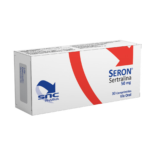 Sertralina Seron 50mg 30comp SNC Pharma