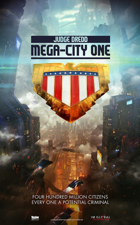 Judge Dredd Mega City One - plakat serialu