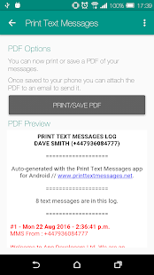 Print Text Messages- screenshot thumbnail
