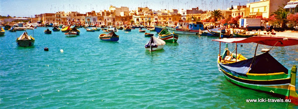 Photo: 1996-07-05. Marsaxlokk.  www.loki-travels.eu