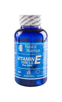 Vitamin E 1000U.I   Tabletas Frasco X60Tab. Natural Nutrition Vitamina E