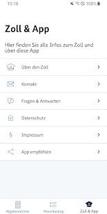 Zoll und Post Screenshot