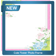 Cute Flower Photo Frame