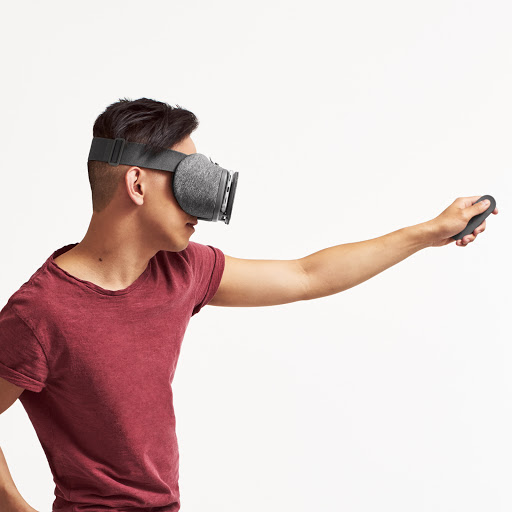 Control VR with a gesture
