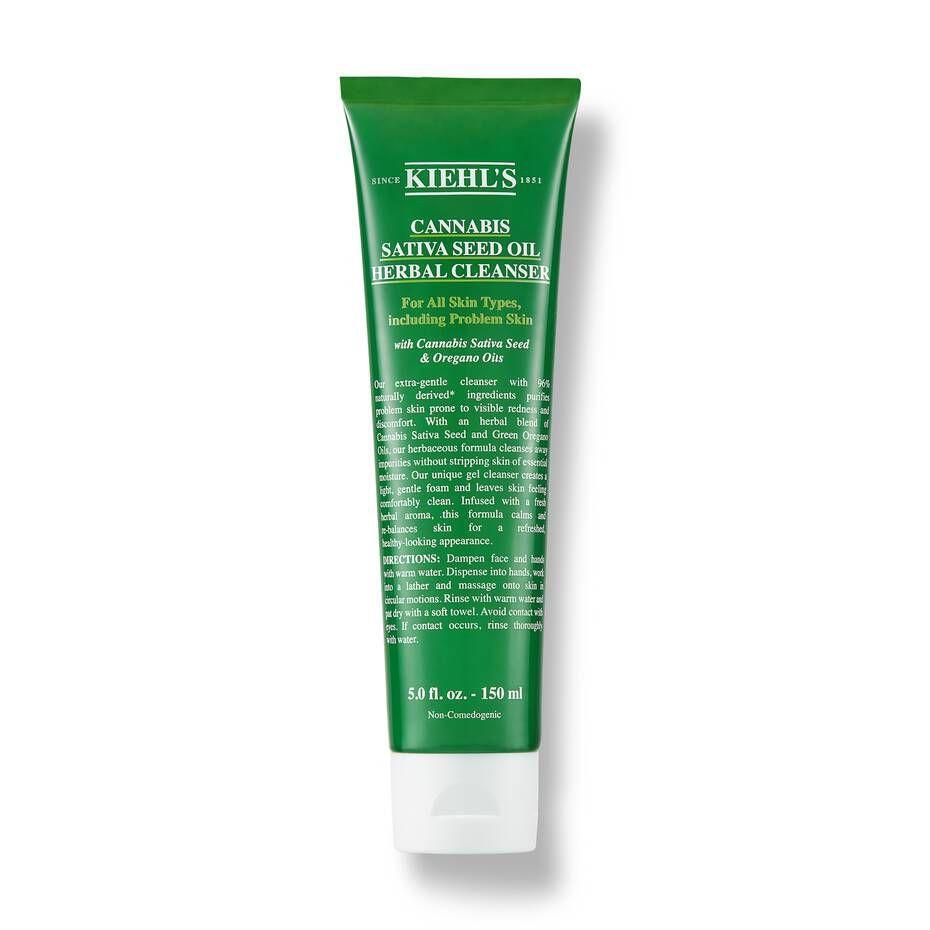 5. Kiehl's Cannabis Sativa Seed Oil Herbal Cleanser