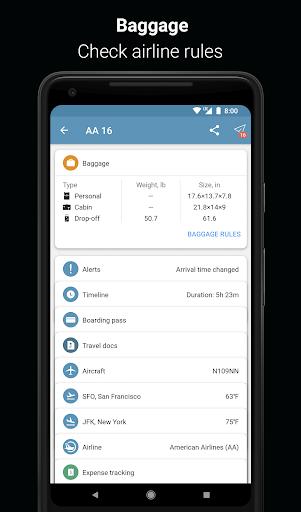 App in the Air - Travel planner & Flight tracker 4.0.9 screenshots 10