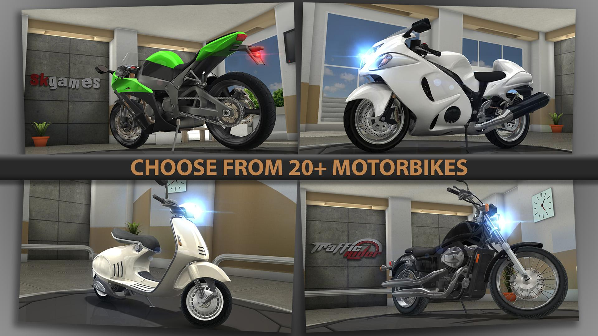 Traffic Rider Mod Apk (Unlimited Money/Key) 5