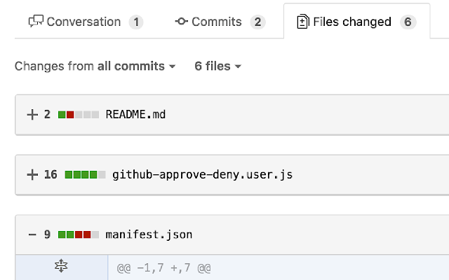 GitHub File Toggle