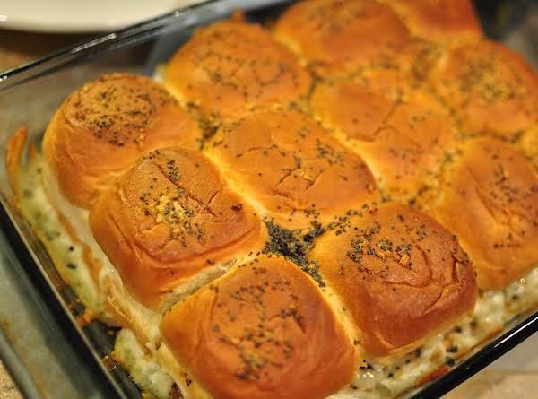 Filled Dinner Rolls
