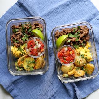 Meal Prep Breakfast Taco Bowls.