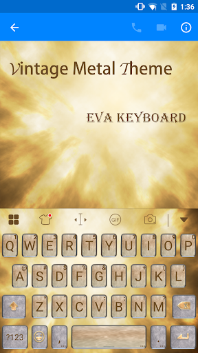 玩免費遊戲APP|下載Metallic Flavor Keyboard -Gif app不用錢|硬是要APP