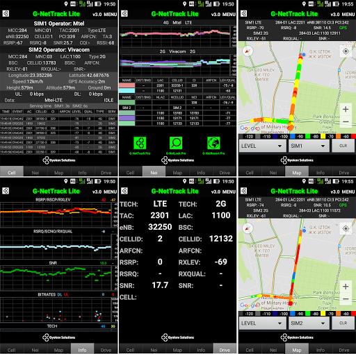 G-NetTrack Lite screenshot 15