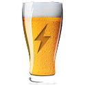 Beer in Glass HD Battery icon