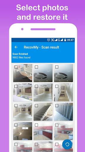 Restore Deleted Photos - RecovMy screenshot 2