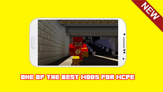 Superhero Mod For Minecraft PE MCPE - náhled