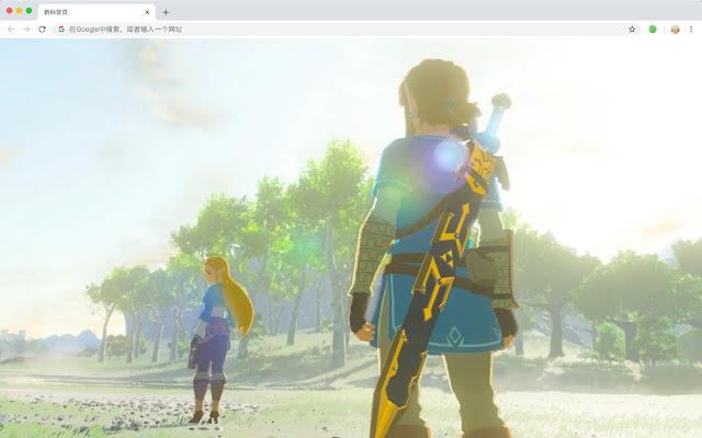 Zelda HD New Tabs Popular Games Themes