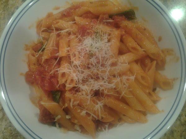 Pasta With Vodka Sauce Recipe