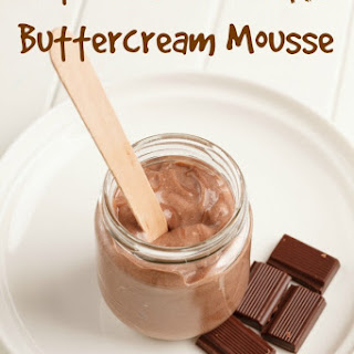 Salted Chocolate Buttercream Mousse