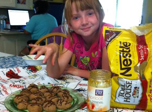 Our Viking Kathryn Testing The Sacher Cookies. She Said Yum!