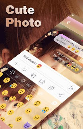 Cute Photo Emoji Keyboard Free 3.0.1 screenshot 315748