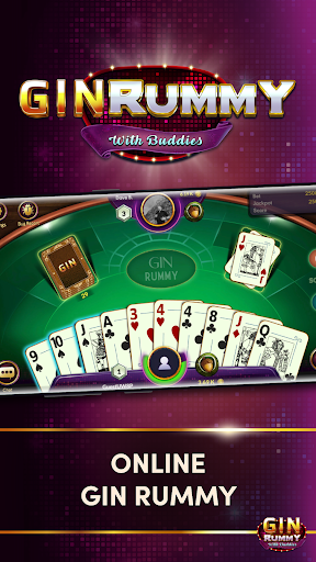 Gin Rummy - Online Card Game android2mod screenshots 1