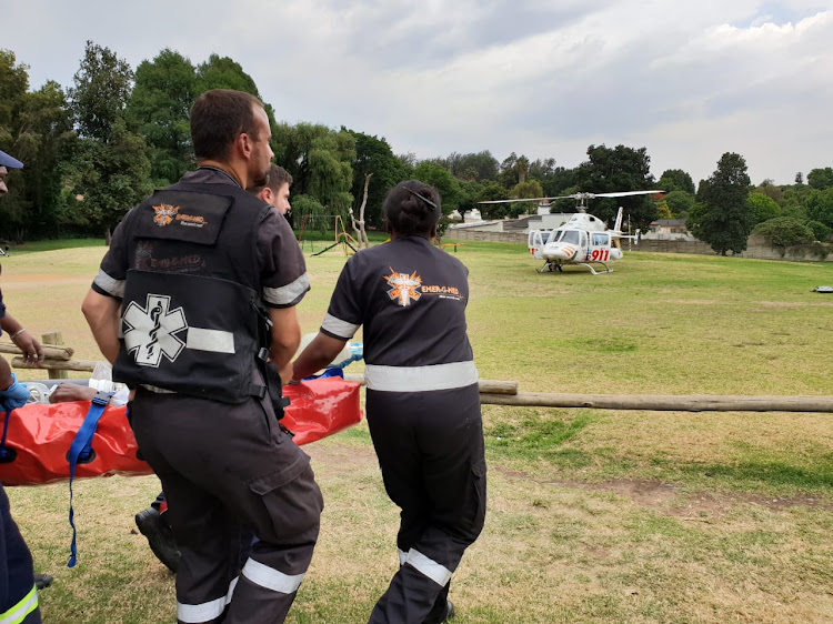 Two soldiers fighting for their lives after SANDF helicopter