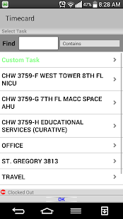 Timecard GPS- screenshot thumbnail