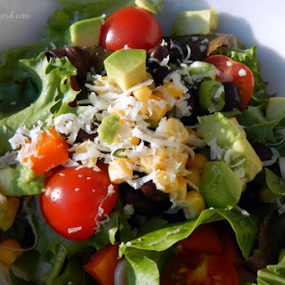 Southwestern Salad with Cilantro-Lime Vinaigrette