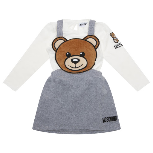 Thumbnail images of Moschino Baby Girl Long Sleeved Top Set