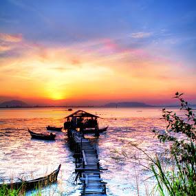 by Azira Ahmad - Landscapes Sunsets & Sunrises ( olympus landscapes advertisement  female sunrise  sunset penang )