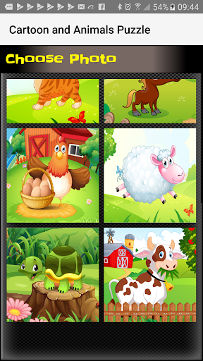 Sliding Puzzle Cartoon&Animals Apk Download Free for PC, smart TV