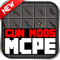 GUN MODS FOR MCPE 1.4.2 icon