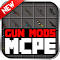 GUN MODS FOR MCPE 1.4.2 Apk
