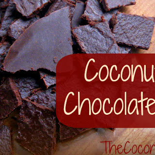 Coconut Oil Chocolate Bars.