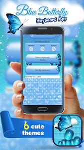 Blue Butterfly Keyboard App screenshot 4