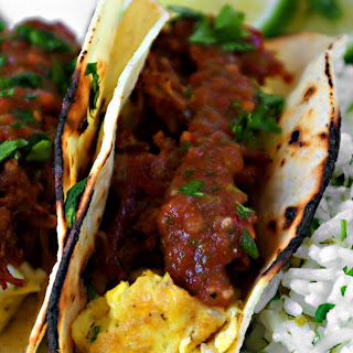 Carnitas Breakfast Tacos