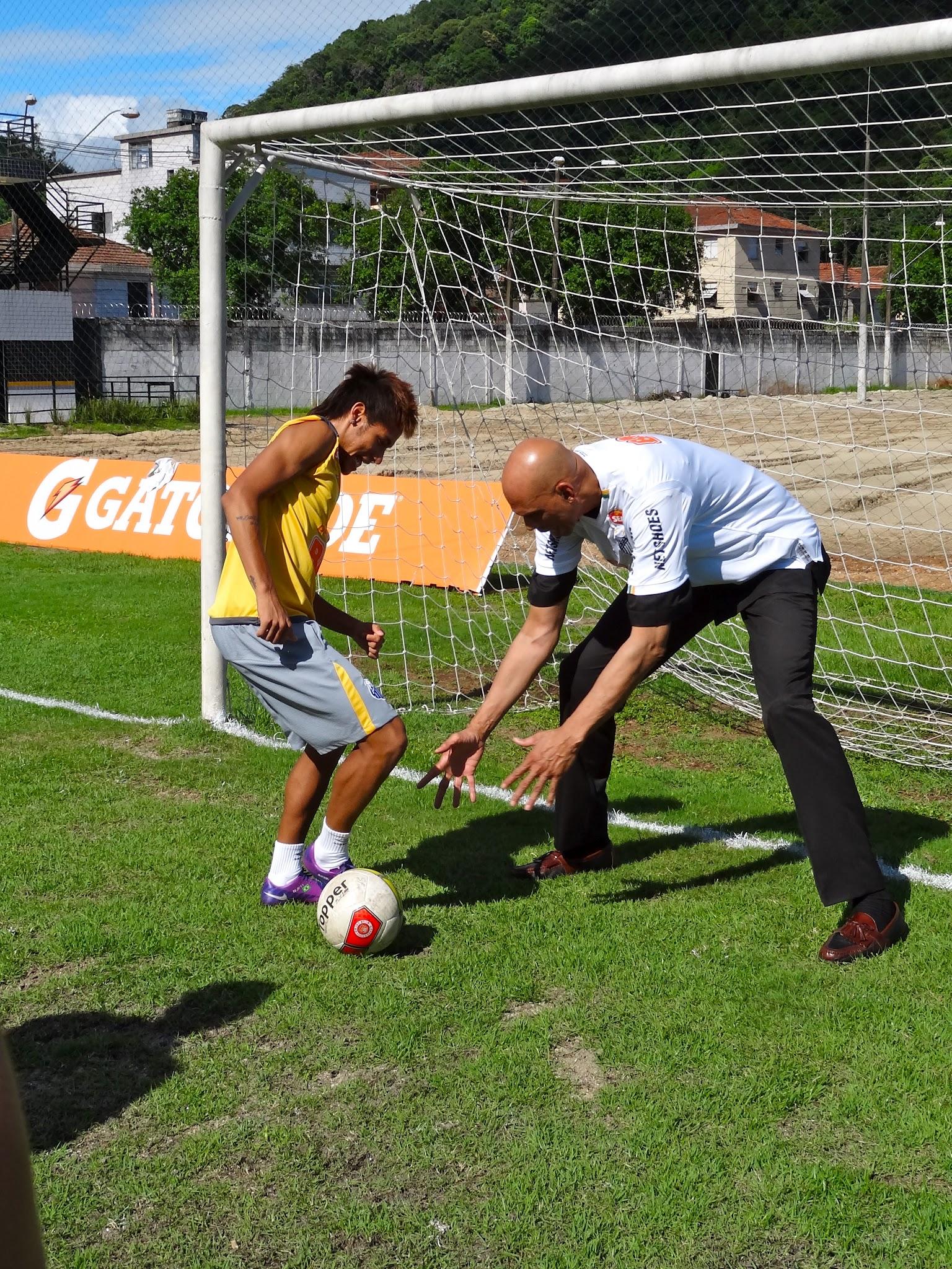 Photo: One on One with Neymar
