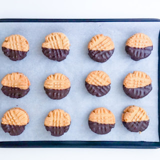 Peanut Butter Cookies with PB Filling