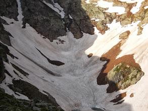 Photo: le Talweg se Termine en impasse sur l'Etg d'Estats