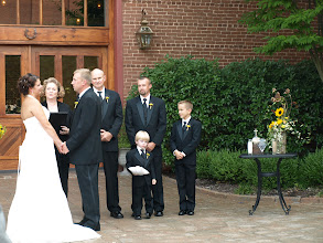 Photo: Wedding Ceremony Officiant Minister - Bleckley Inn - Anderson, SC - http://WeddingWoman.net