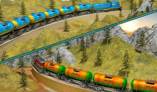 Indian Train City Pro Driving- Oil Tanker Train  screenshots 15