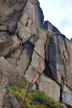 Photo: Cordes a double dans l'arrete Rama