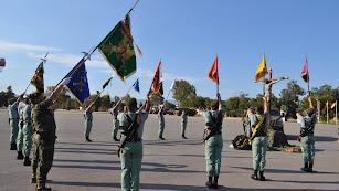 Homenaje a los caídos en la parada militar celebrada en el MOE. Foto: Ejército de tierra