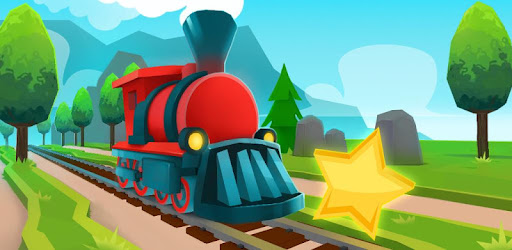 Rush Track Express is a fun train surfer that will get you chugging in no time!